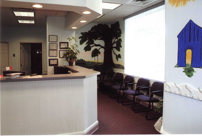 Check-in Desk at Pediatric Dentist Office in Clarks Summit