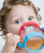 Child With Sippy Cup at Pediatric Dentist Office in Clarks Summit